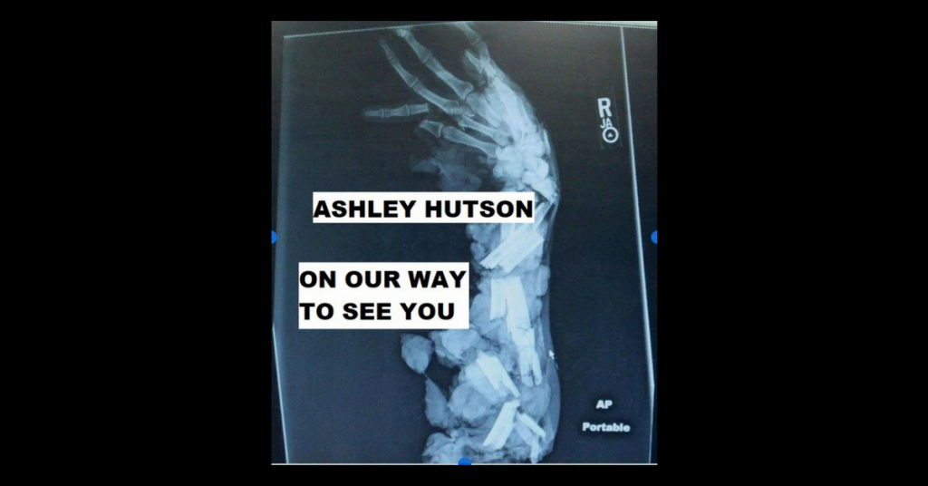 ON OUR WAY TO SEE YOU by Ashley Hutson
