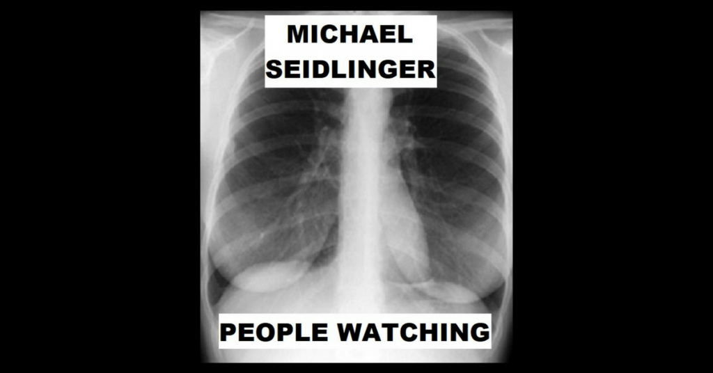 PEOPLE WATCHING by Michael Seidlinger