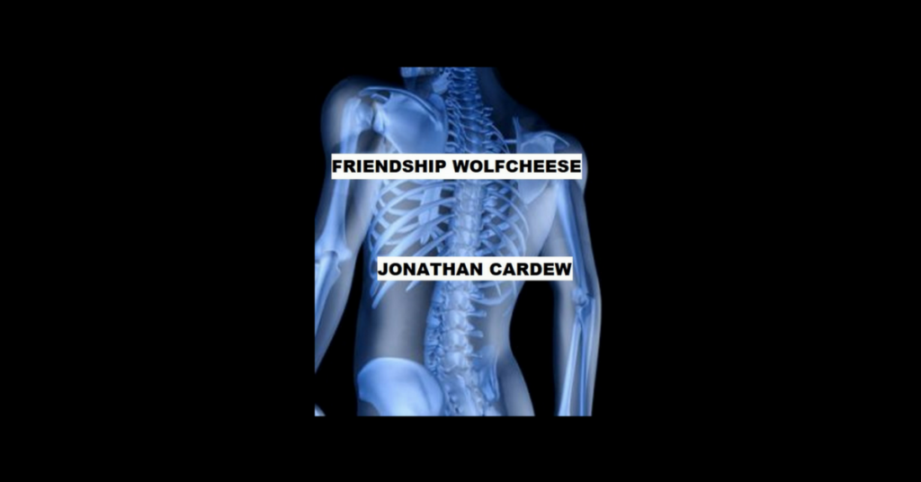 FRIENDSHIP WOLFCHEESE by Jonathan Cardew