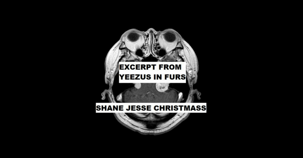 """YEEZUS IN FURS"" EXCERPT by Shane Jesse Christmass"