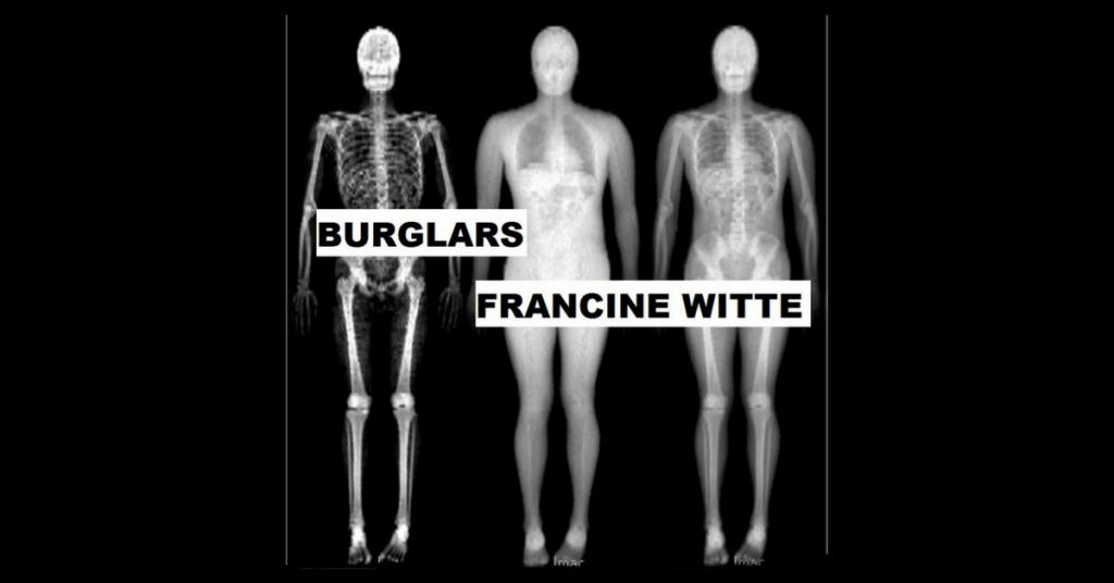 BURGLARS by Francine Witte