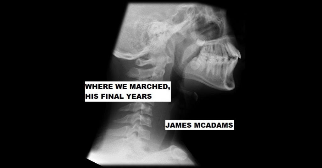 WHERE WE MARCHED, HIS FINAL YEARS by James McAdams