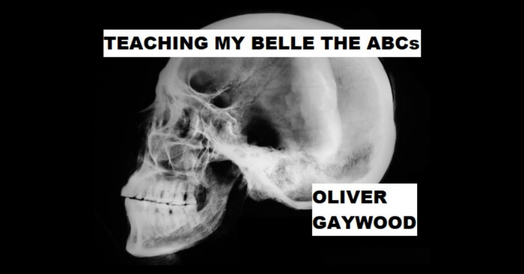 TEACHING MY BELLE THE ABCS by Oliver Gaywood