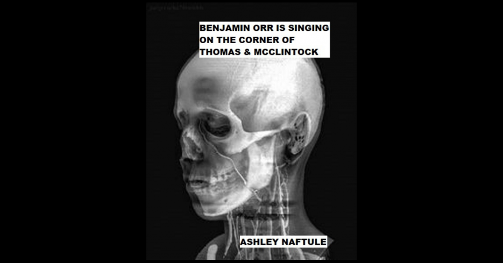BENJAMIN ORR IS SINGING ON THE CORNER OF THOMAS & MCCLINTOCK by Ashley Naftule