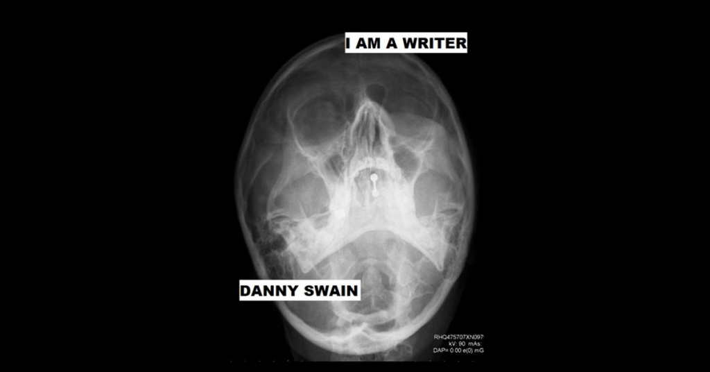 I AM A WRITER by Danny Swain
