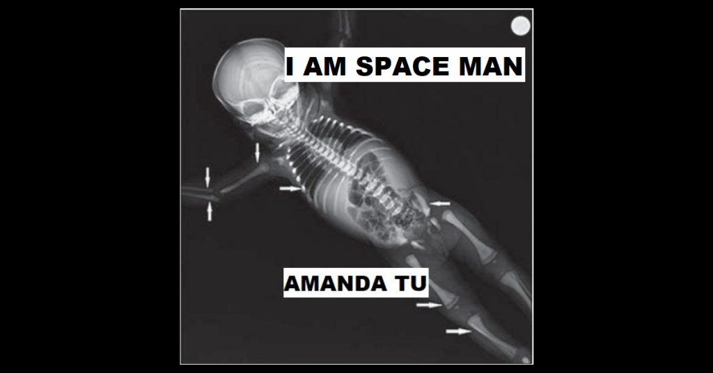 I AM SPACE MAN by Amanda Tu