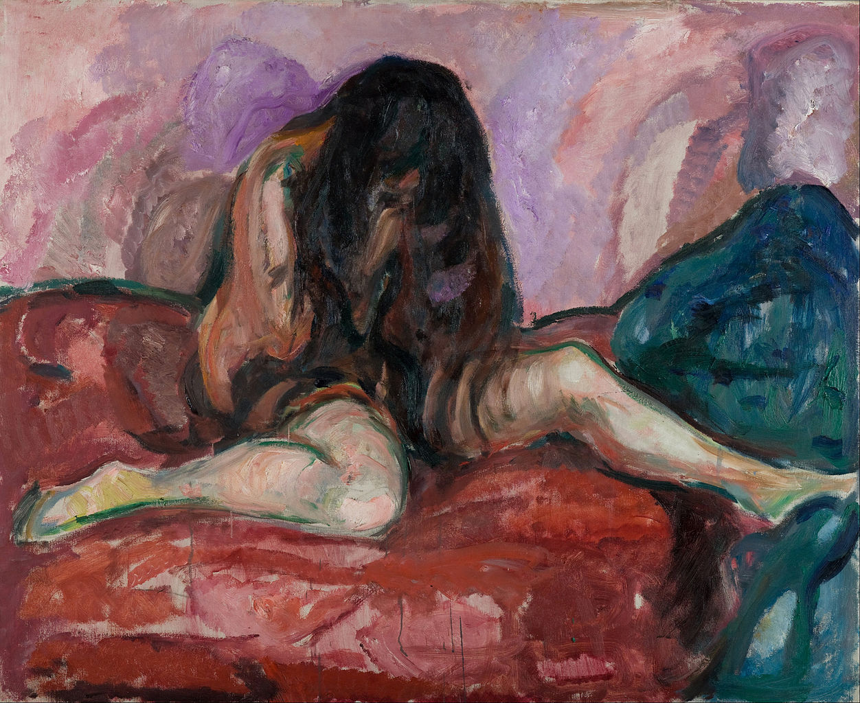 edvard munch weeping nude