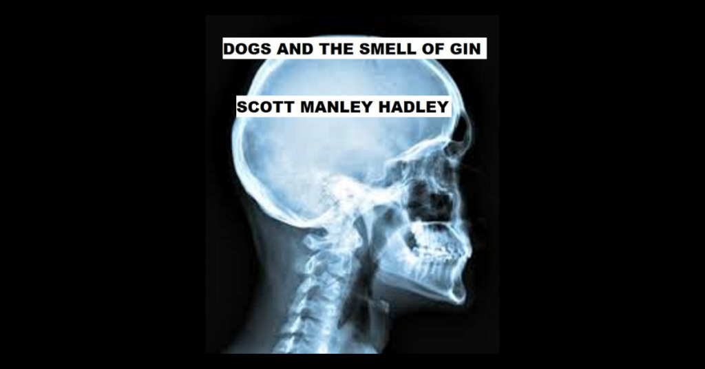 DOGS AND THE SMELL OF GIN by Scott Manley Hadley
