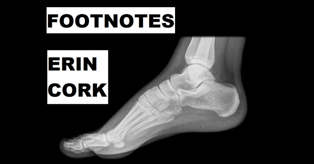 FOOTNOTES by Erin Cork