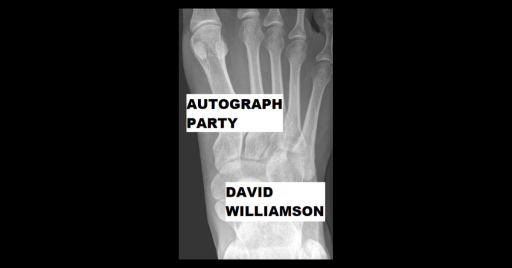 AUTOGRAPH PARTY by David Williamson