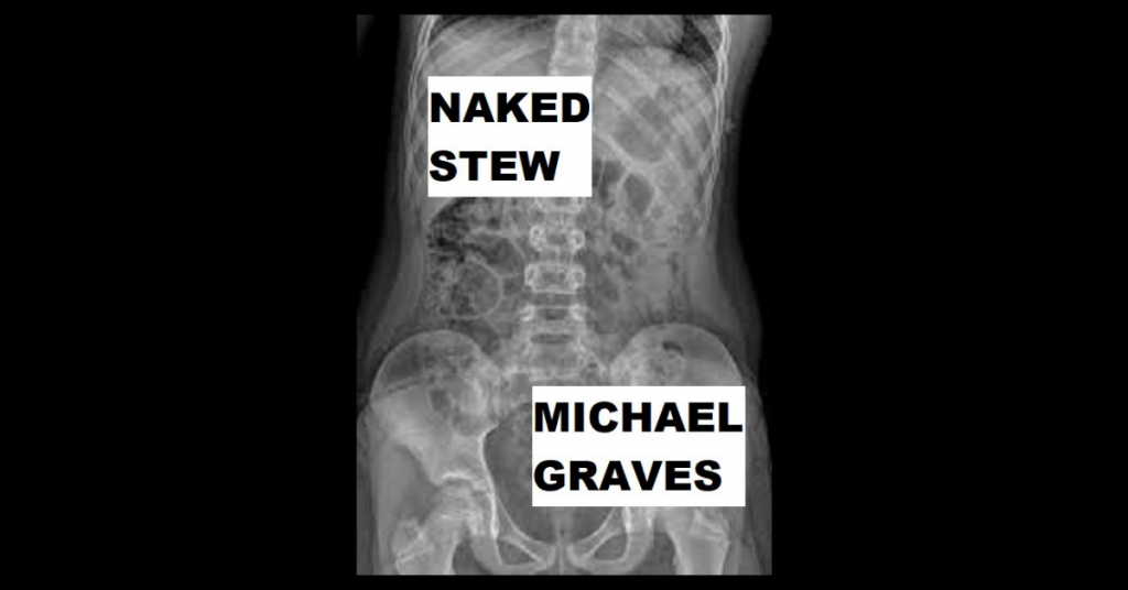NAKED STEW by Michael Graves
