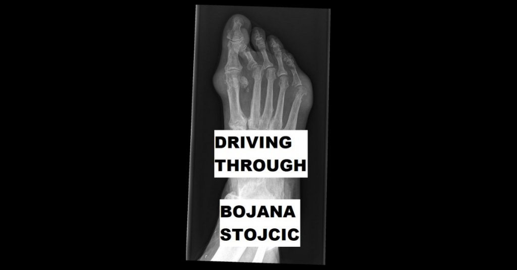 DRIVING THROUGH by Bojana Stojcic