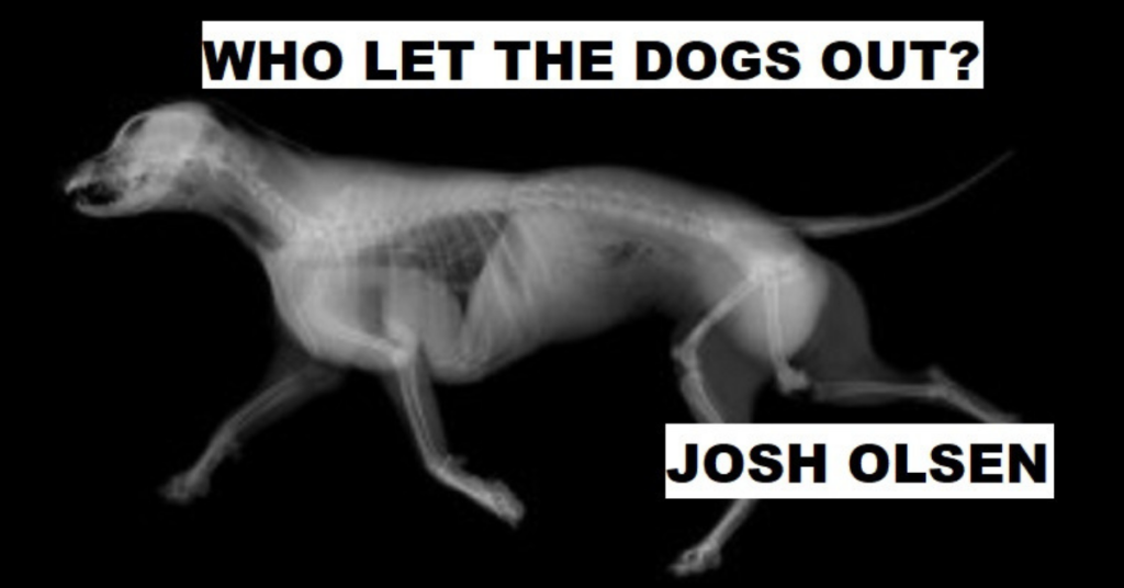 WHO LET THE DOGS OUT? by Josh Olsen