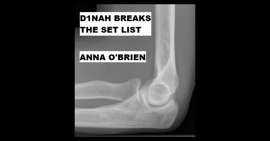 D1NAH BREAKS THE SET LIST by Anna O'Brien