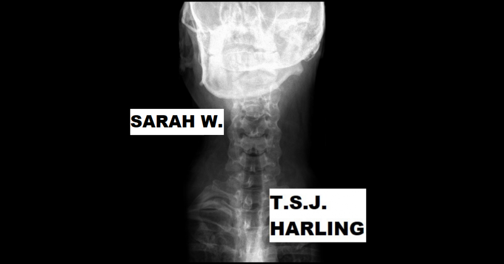 SARAH W. by T.S.J. Harling