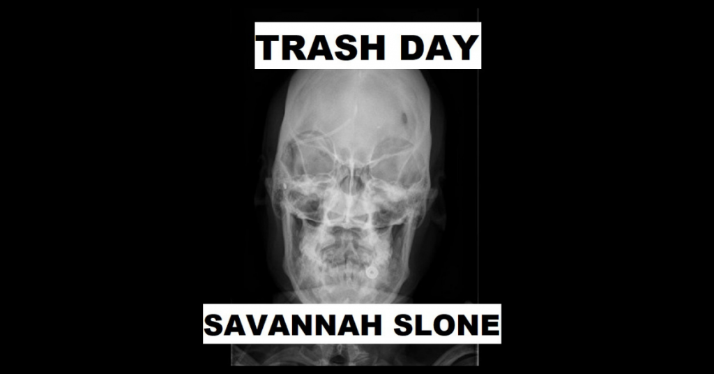 TRASH DAY by Savannah Slone