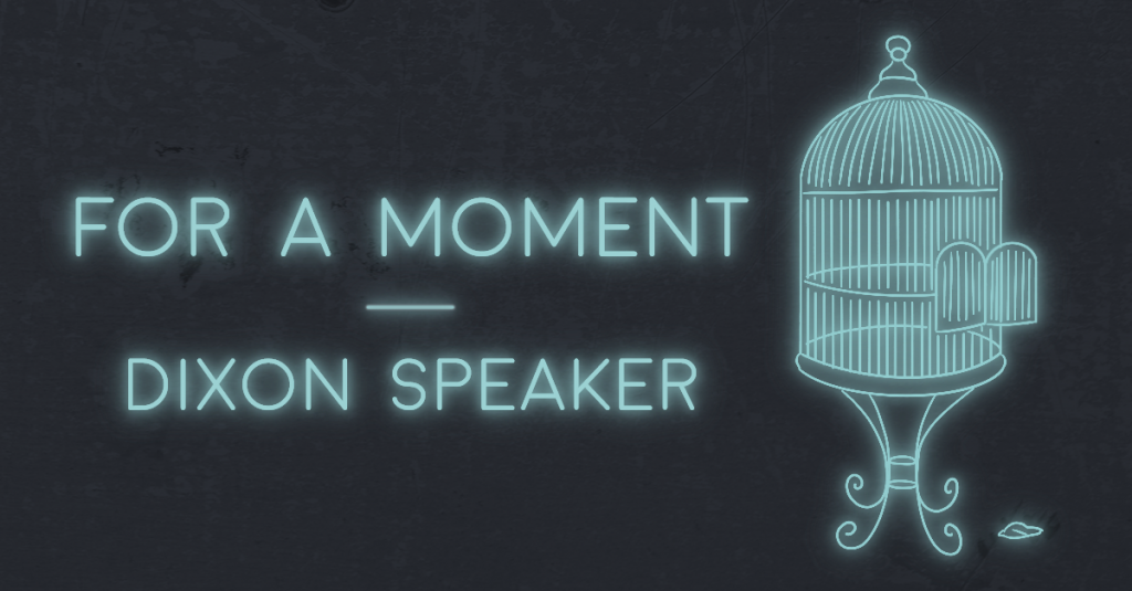 FOR A MOMENT by Dixon Speaker