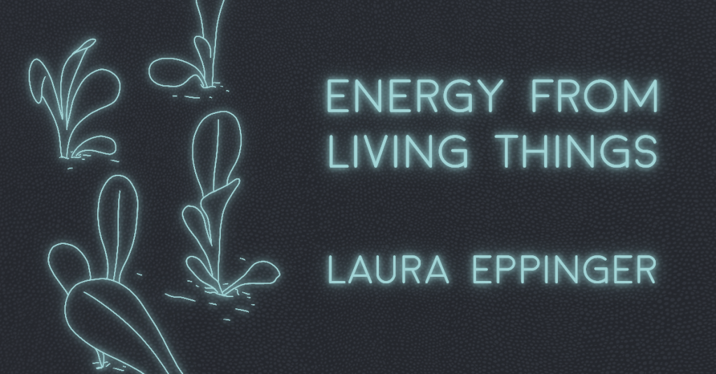 ENERGY FROM LIVING THINGS by Laura Eppinger