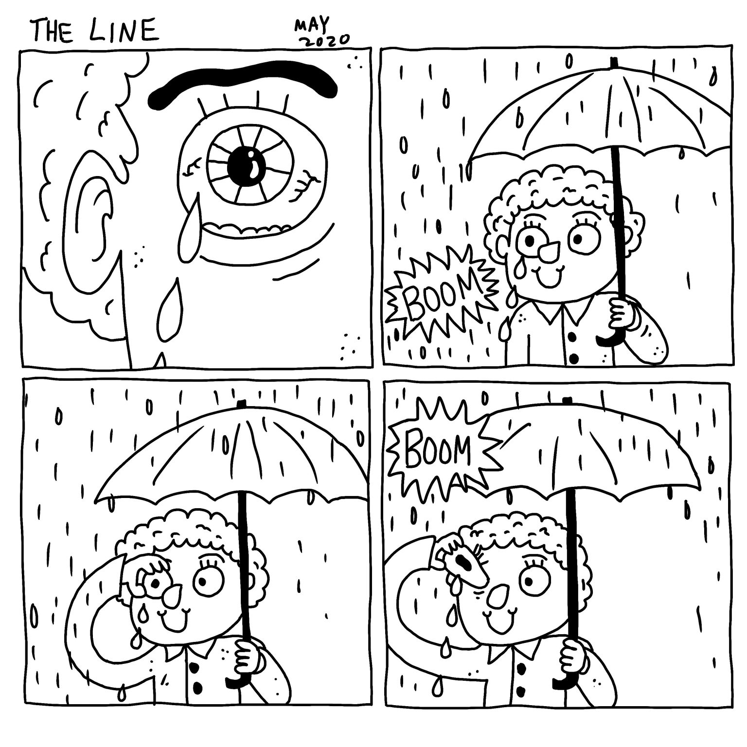 """THE LINE"" by Michael Seymour Blake"