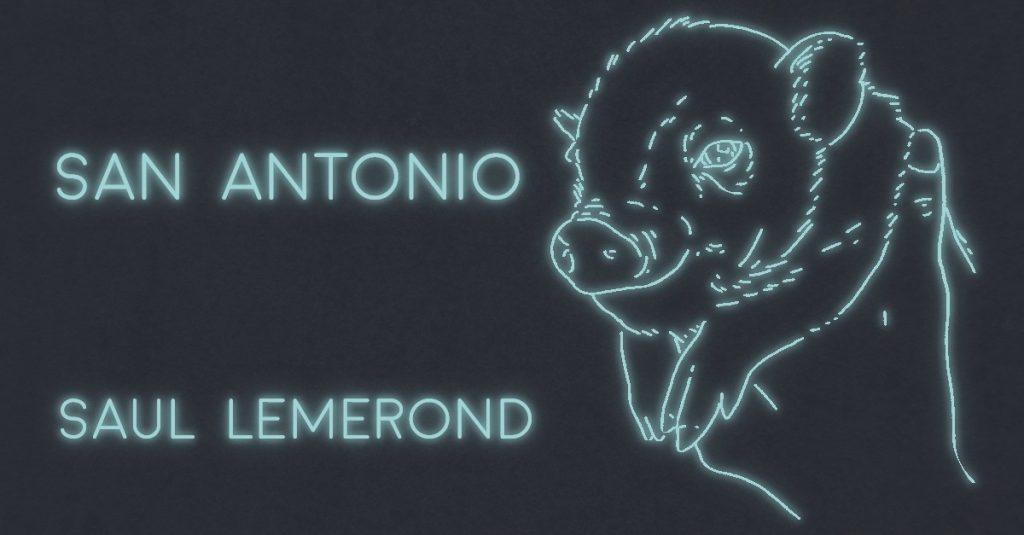 SAN ANTONIO by Saul Lemerond