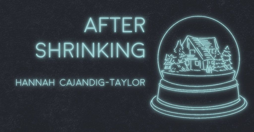 AFTER SHRINKING by Hannah Cajandig-Taylor