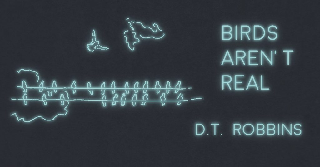 BIRDS AREN'T REAL by D.T. ROBBINS