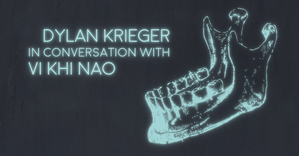 DYLAN KRIEGER in conversation with VI KHI NAO