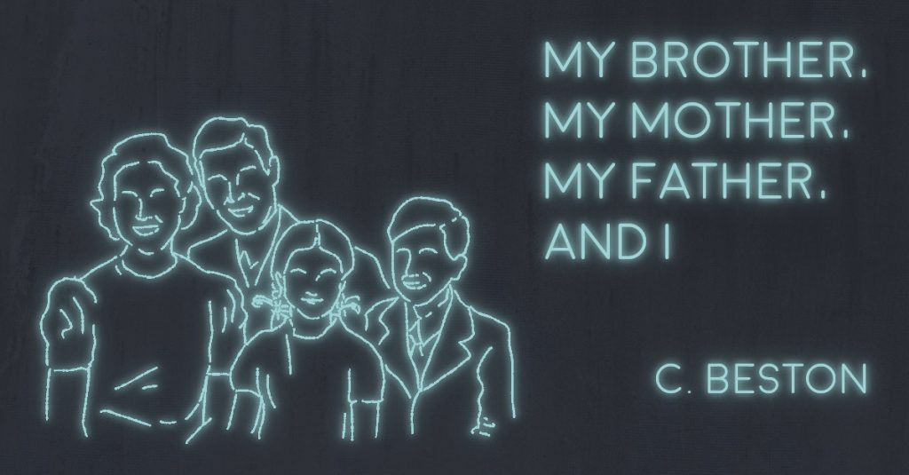 MY BROTHER, MY MOTHER, MY FATHER, AND I by C. Beston