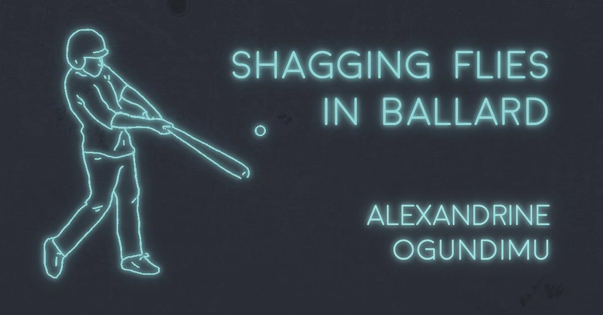SHAGGING FLIES IN BALLARD by Alexandrine Ogundimu